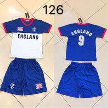 Ensemble maillot de football Equipe d'Angleterre n°9