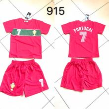 Ensemble maillot de football Equipe de Portugal
