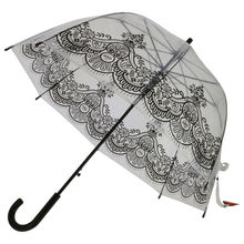 Parapluie cloche transparent motif original