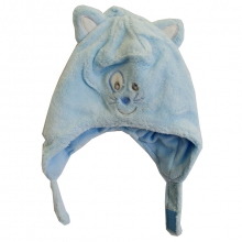 Bonnet bébé chat