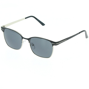Lunette de soleil homme forme monture rectangle
