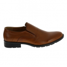 Chaussures basses sans lacets super confortables marron