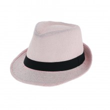Assortiment chapeau trilby à bords courts en papier