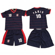 Ensemble maillot de football avec short PARIS