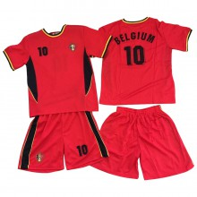 Ensemble maillot de football avec short BELGIQUE