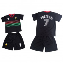 Ensemble maillot de football avec short PORTUGAL