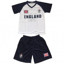 Ensemble maillot de football avec short ANGLETERRE