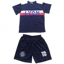 Ensemble maillot de football avec short LYON