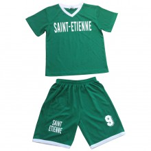 Ensemble maillot de football avec short ST-ETIENNE