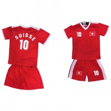 Ensemble maillot de football avec short SUISSE