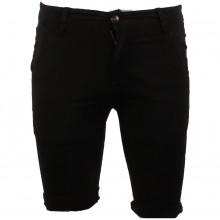 Bermuda chino avec poches noir taille 28 - 38