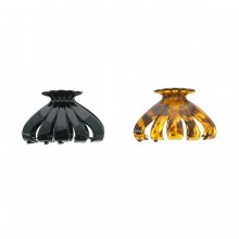 Assortiment pince crabe pour cheveux taille 8cm