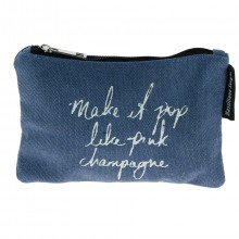 "Trousse MASSILIANO SERGIO ""Make it pop like pink champagne"""