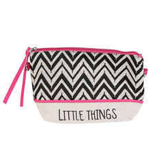 Pochette en coton imprimé ethnique LITTLE THINGS
