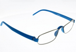"Lunettes de Lecture Loupe Notary Bleu """"the new classic"