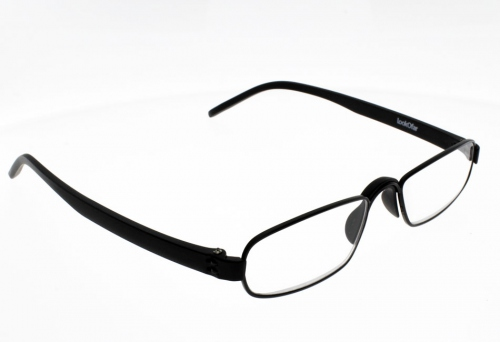 "Lunettes de Lecture Loupe Notary Noir """"the new classic"