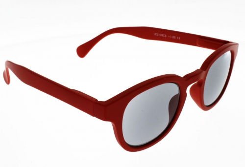 """Lunettes de Lecture Loupe SOLAIRE Oxford Rouge """"""""the new trend"""""""" Indice 2"""