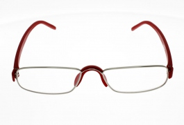 "Lunettes de Lecture Loupe Notary Rouge """"the new classic"