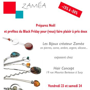 Black Friday bijoux Zamea chez Hair Concept