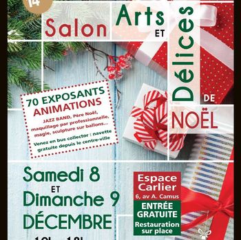 ZAMEA EXPOSE AU SALON ARTS ET DELICES - 8 DECEMBRE 2018