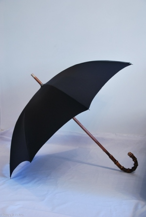 Bamboo shaft umbrella