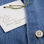 Camicia Maria Santangelo Denim Slim Fit