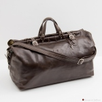Brown Travel Bag 100% Leather