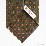 Green Ancient Madder Francesco Marino Napoli Tie