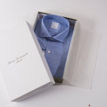 Blue Chambray Slim Fit Maria Santangelo shirt