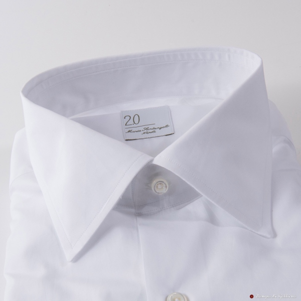 Chemise Maria Santangelo blanche Slim Fit
