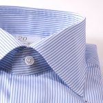 Blue Stripes Slim Fit Maria Santangelo shirt