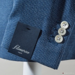 Light Blue Unlined Filomarino Napoli Jacket