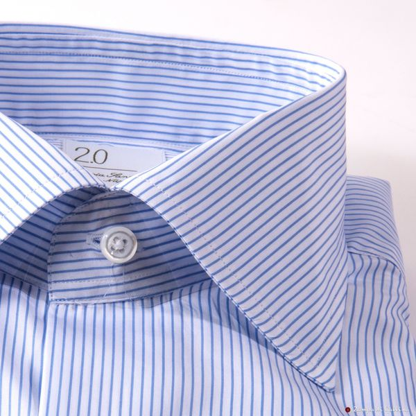 Blue Gingham Slim Fit Maria Santangelo shirt