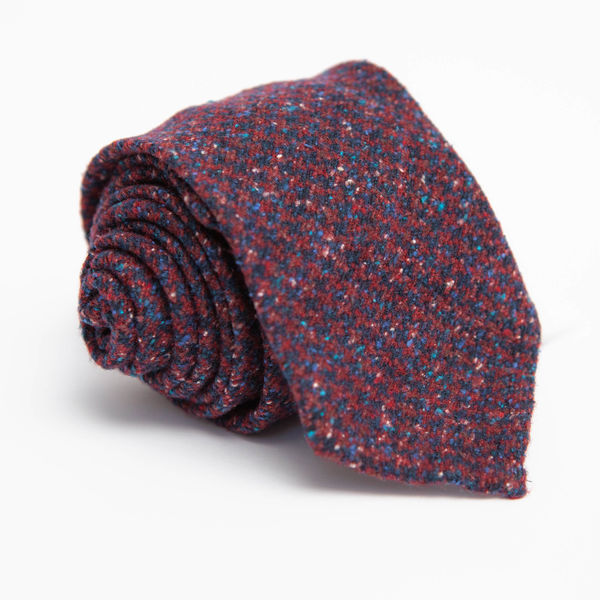 Unlined 100% wool Donegal Calabrese 1924 necktie