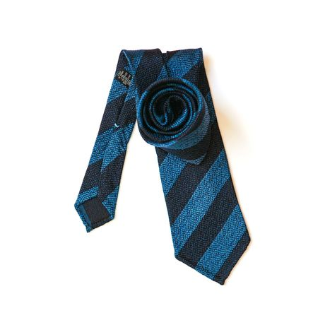 Blue with stripes Calabrese 1924 necktie