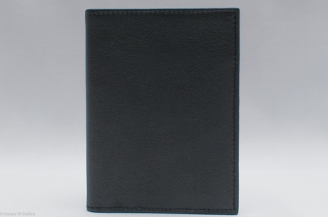 Bonino black leather billfold wallet
