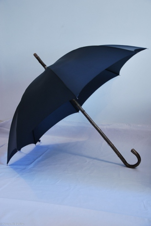 Dark Hickory wood umbrella