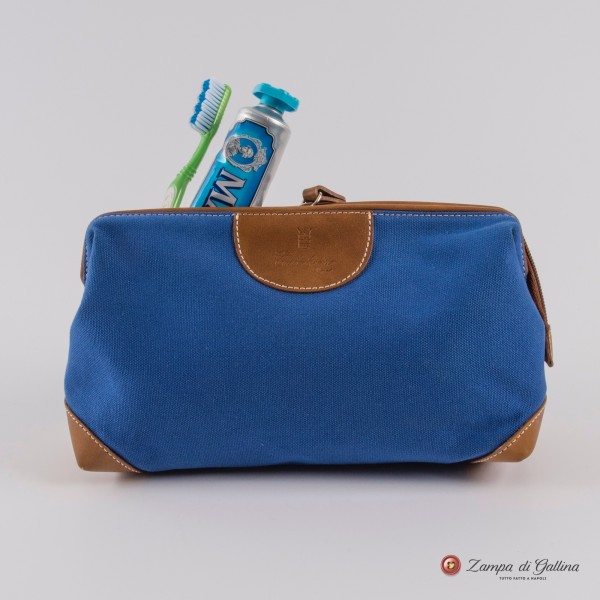 Blue Gajola Calabrese 1924 Wash Bag