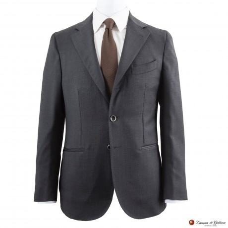 Grey Unlined Filomarino Napoli Suit