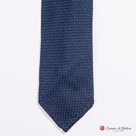 Unlined Blue Large Garza Francesco Marino Napoli Tie