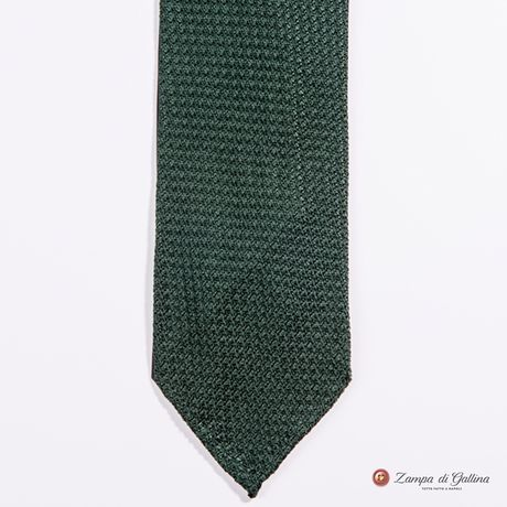 Unlined Green Large Garza Francesco Marino Napoli Tie